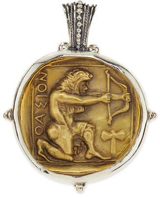 Konstantino Men's Sterling and Bronze Hercules Pendant