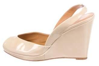 KORS Peep-Toe Slingback Sandals