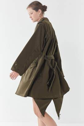 Urban Renewal Vintage Longline Surplus Trench Coat