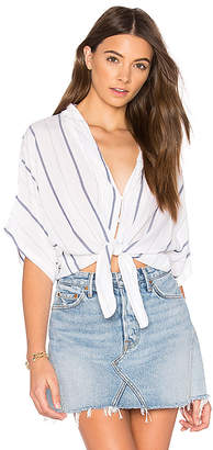 Rails Thea Tie Front Button Up in White $138 thestylecure.com