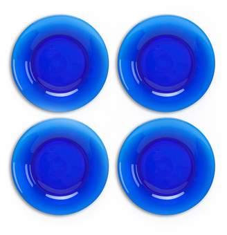Mosser Glass Dinner plate set - Cobalt