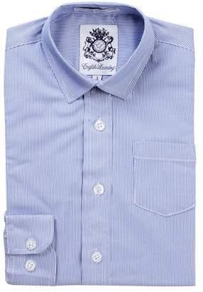 English Laundry Stripe Dress Shirt (Toddler & Little Boys)