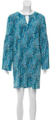 MICHAEL Michael Kors Paisley Print Mini Dress w/ Tags