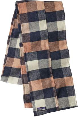 Patagonia Fjord Flannel Patchwork Scarf