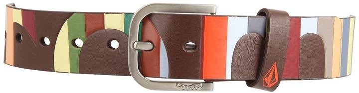 Volcom Boldface PU Belt (Big Youth) (Brown) - Apparel