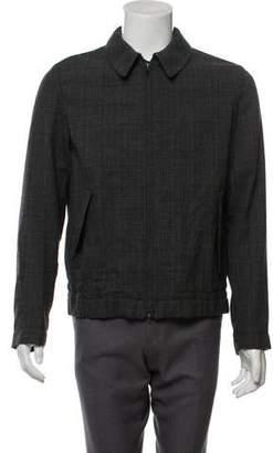 Marni Plaid Wool Jacket