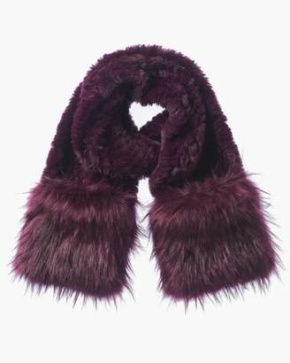 60a66d3b3ae Purple Faux Fur Women s Scarves - ShopStyle