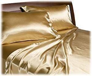 Royal Opulence Divatex Home Fashions Satin Queen Sheet Set