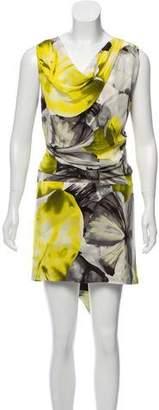 Robert Rodriguez Silk Printed Dress