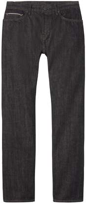 Banana Republic Straight Black-Wash Selvedge Jean