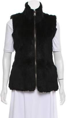 LaROK Fur Zip-Up Vest