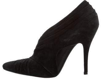 Alexander Wang Suede Pointed-Toe Pumps