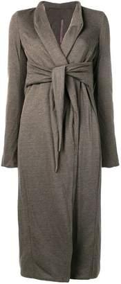 Rick Owens Lilies tie waist cardigan