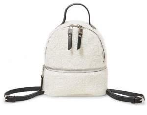 Steve Madden Minnie Faux Fur Backpack