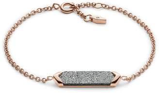 Fossil Stone Plaque Bracelet