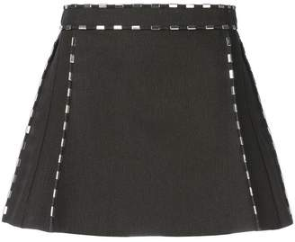 Chloé metallic trim mini skirt