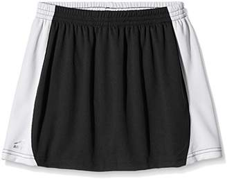 Trutex Girl's Sector Skort Sports Skirt, Black (Black/White), 12-13 Years (Manufacturer Size:X-Small)