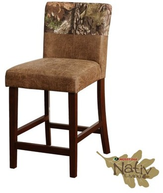 The Mossy Oak Nativ Living Counter Stool