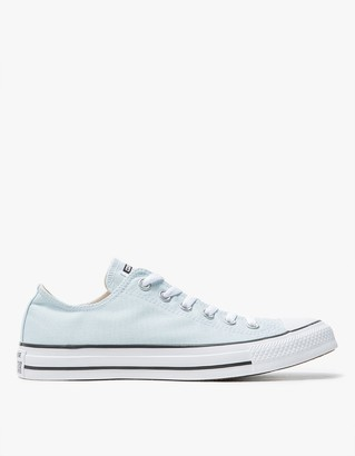 Low Top All Star in Polar Blue $55 thestylecure.com