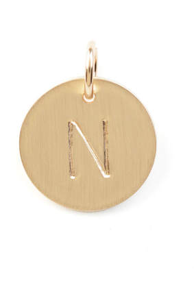 Nashelle N Initial Disc Necklace Charm