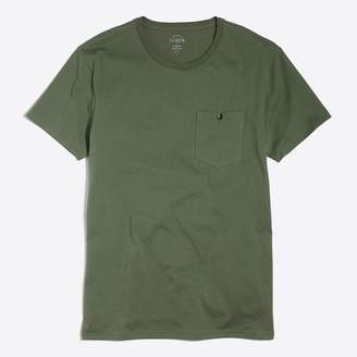 J.Crew Factory Slim washed button-pocket T-shirt
