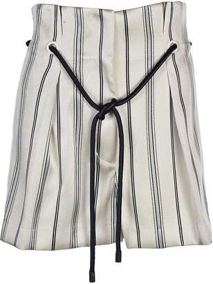 3.1 Phillip Lim Striped Tailored Shorts