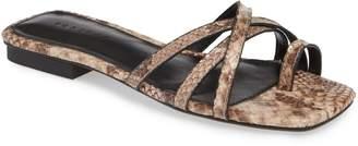 Topshop Hippie Square Slide Sandal