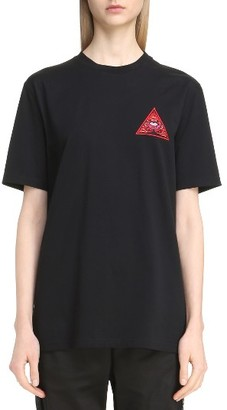 Women's Givenchy Realize Embroidered Tee $590 thestylecure.com