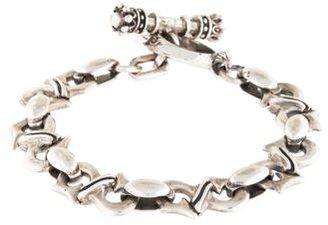 King Baby Studio Link Toggle Bracelet $345 thestylecure.com