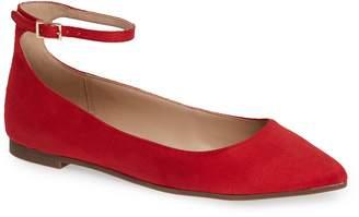 BCBGMAXAZRIA Malinda Ankle Strap Flat