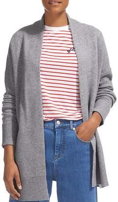 Whistles Long-Line Merino-Wool Cardigan