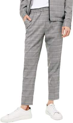 Topman Glen Plaid Trousers