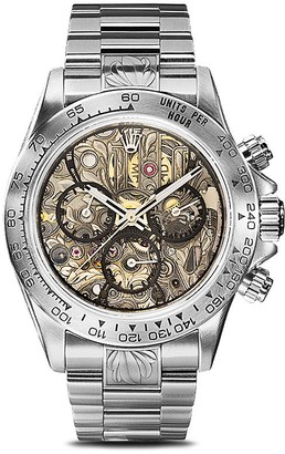 Rolex MAD Paris Daytona Openwork SK II 40mm