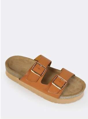 Bamboo Two Strap Sandal