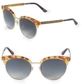 Gucci 56MM Clubmaster Sunglasses