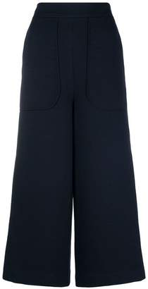 See by Chloe high-waisted cropped trousers