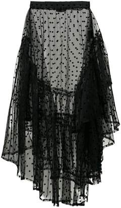 Barbara Bologna Flounce skirt