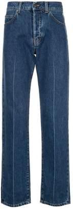MSGM high waisted straight leg jeans