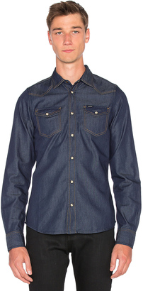 Diesel Sonora Long Sleeve Shirt $128 thestylecure.com