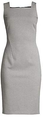 BOSS Women's Davenara Mini Houndstooth Stretch Sheath - Size 0