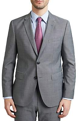 HUGO BOSS HUGO by C-Jeffery Textured Wool Regular Fit Suit Jacket, Grey