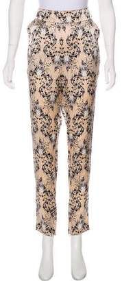 Thomas Wylde High-Rise Skinny Pants
