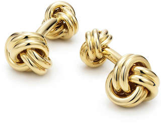 Tiffany & Co. Knot cuff links in 18k gold