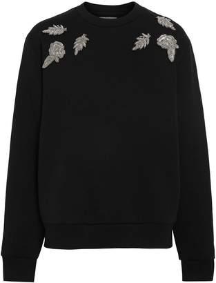 Burberry Bullion Floral Cotton Blend Sweatshirt