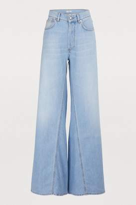 Ganni Sheldon wideled jeans