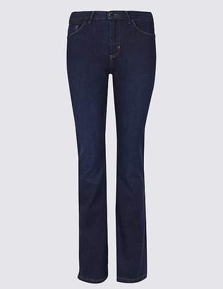 Marks and Spencer Sculpt & Lift Roma Rise Slim Boot Cut Jeans