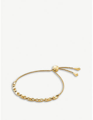 Michael Kors Mercer Link yellow gold-plated chain bracelet