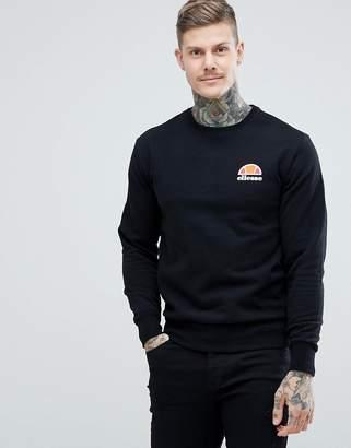 Ellesse Sweatshirt With Small Logo In Black
