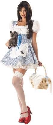 California Costumes Women's Adult-Storybook Sweetheart, Blue/White, L (10-12) Costume