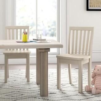 Mistana Severus Wood Ready to Finish Kids Desk Chair Mistana